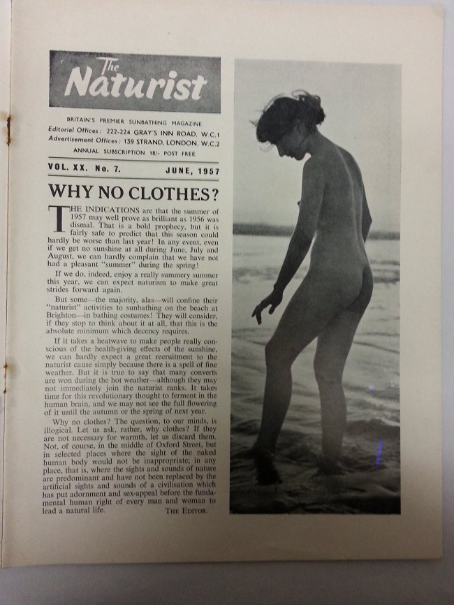 The Naturist Vol. XX, No. 7 June 1957