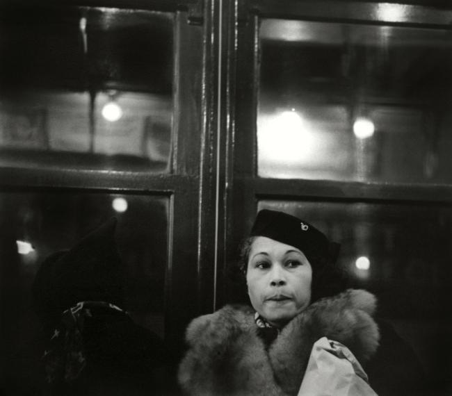 Walker Evans (American, 1903-1975) 'Subway portrait' 1938-1941