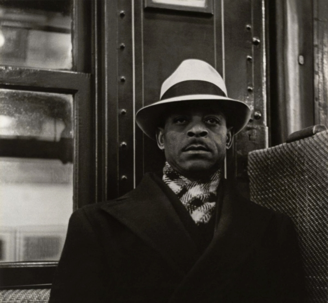 Walker Evans (American, 1903-1975) 'Subway portrait' 1938-1941