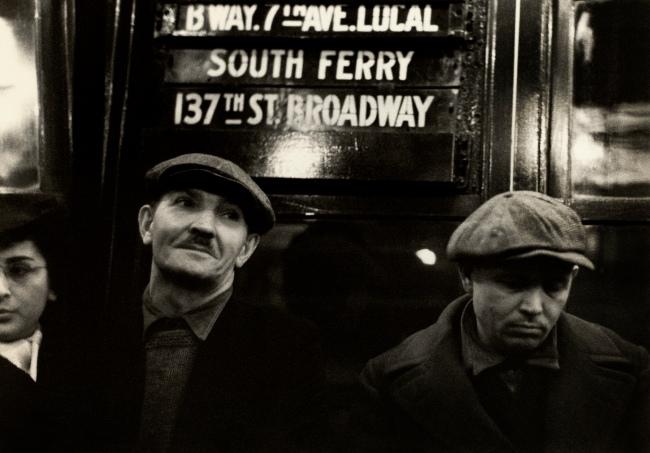 Walker Evans (American, 1903-1975) 'Subway Passengers, New York City' 1938-1941