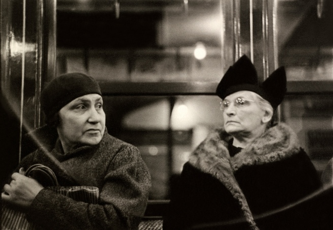 Walker Evans (American, 1903-1975) 'Subway Passengers, New York City' 1938-1941