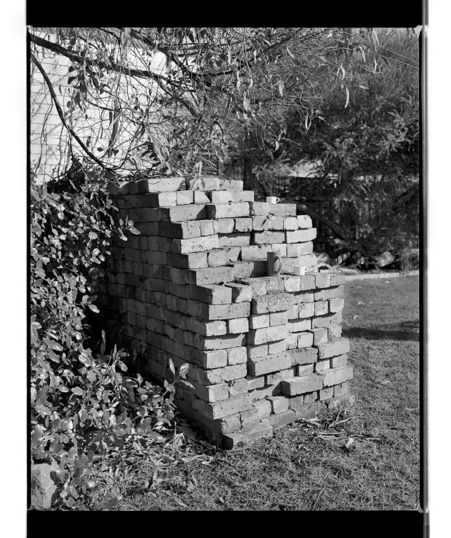 Marcus Bunyan. 'Bricks and cups' 1994-1996