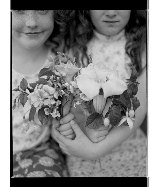 Marcus Bunyan (Australian, b. 1958) 'Children and flowers IIII' 1994-96