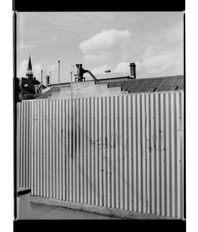 Marcus Bunyan (Australian, b. 1958) 'Corrugations I' 1994-96