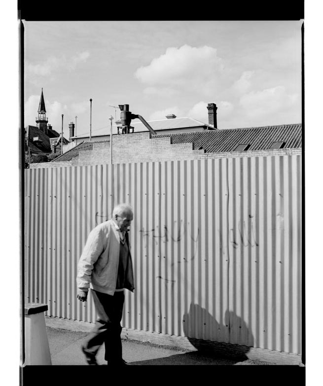Marcus Bunyan (Australian, b. 1958) 'Corrugations II' 1994-96