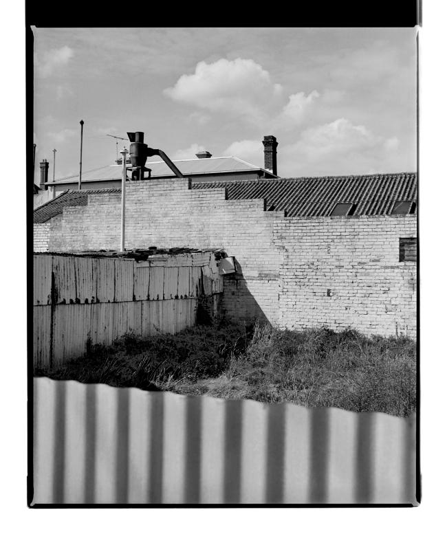 Marcus Bunyan (Australian, b. 1958) 'Corrugations III' 1994-96