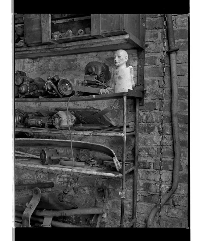 Marcus Bunyan (Australian, b. 1958) 'Doll face I' 1994-96