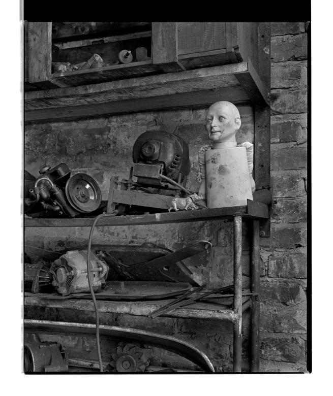 Marcus Bunyan (Australian, b. 1958) 'Doll face II' 1994-96