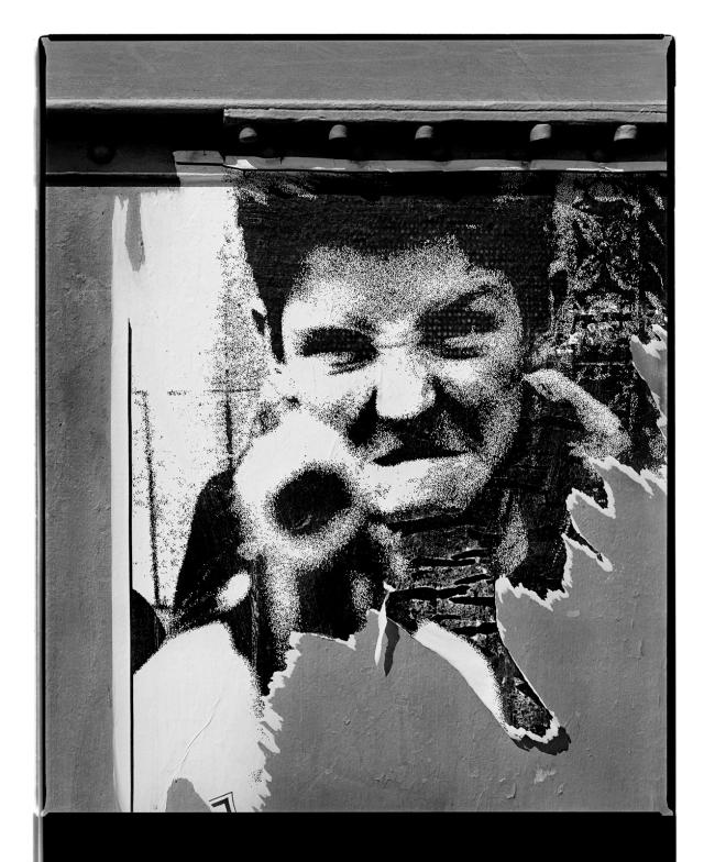 Marcus Bunyan (Australian, b. 1958) 'Face II (William Klein)' 1994-96