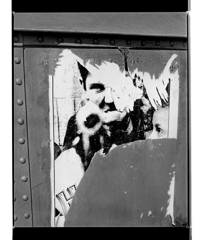 Marcus Bunyan (Australian, b. 1958) 'Face I (William Klein)' 1994-96