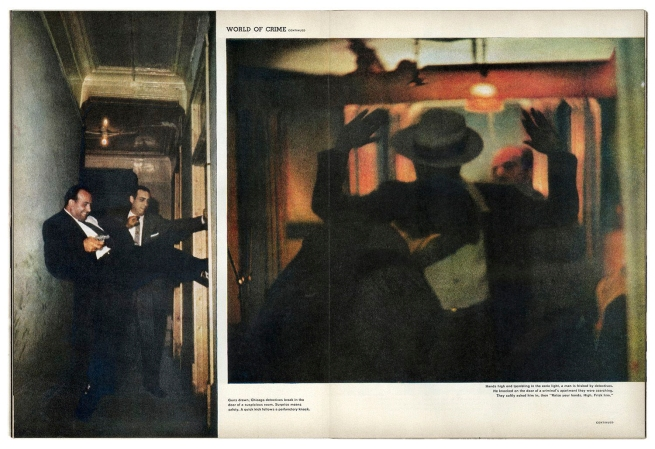 "Robert Wallace. ""Crime in the U.S."" LIFE magazine, September 9, 1957"