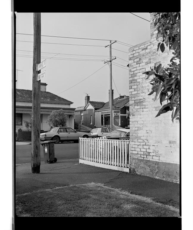 Marcus Bunyan (Australian, b. 1958) 'Jubilee Street, Melbourne' 1994-96