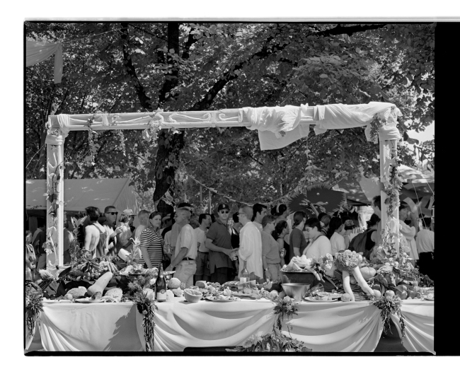 Marcus Bunyan (Australian, b. 1958) 'Banquet table, Melbourne gay pride' 1994