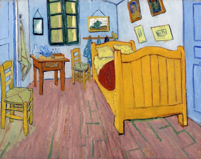 Vincent van Gogh (1853 - 1890) 'The Bedroom' Arles, October 1888