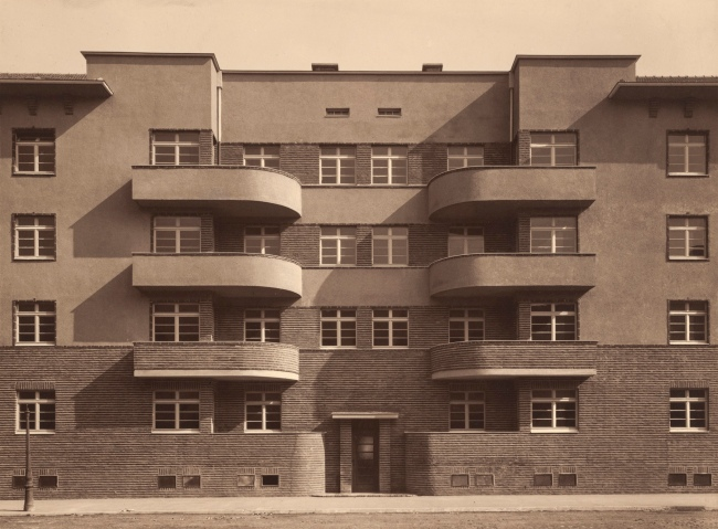 Werner Mantz (German, 1901-1983) 'Waldecker Str., Cologne-Buchforst (formerly Kalker Feld)' 1928