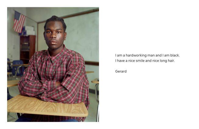 Dawoud Bey (American, b. 1953) 'Gerard, Edgewater High School, Orlando, FL, 2003' 2003