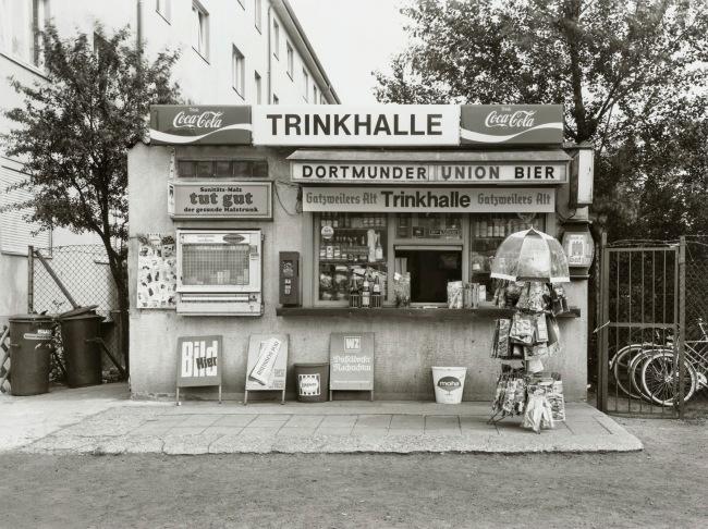 Tata Ronkholz (German, 1940-1977) 'Trinkhalle, Sankt-Franziskusstraße 107' 1977