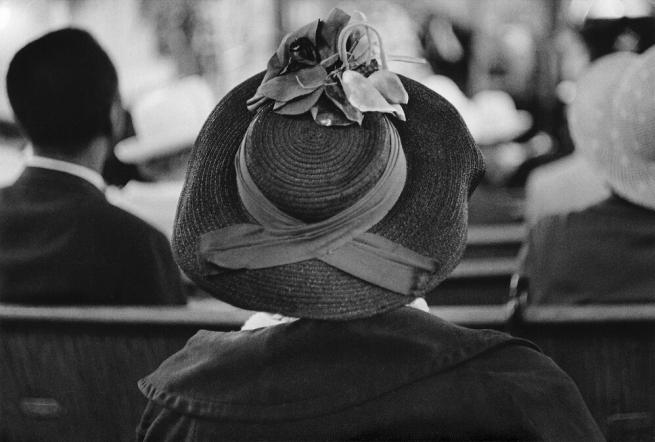 Dawoud Bey (American, b. 1953) 'A Woman at Convent Avenue Baptist Church, Harlem, NY, 1977' 1977