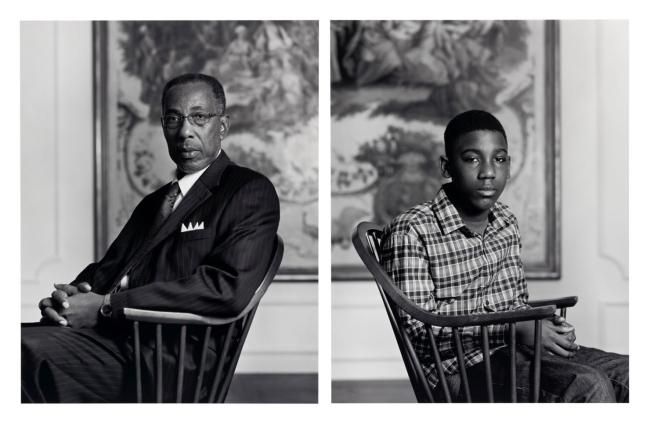 Dawoud Bey (American, b. 1953) 'Don Sledge and Moses Austin' 2012