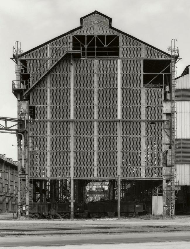 Bernd and Hilla Becher. 'Charleroi-Montigny, B' 1984