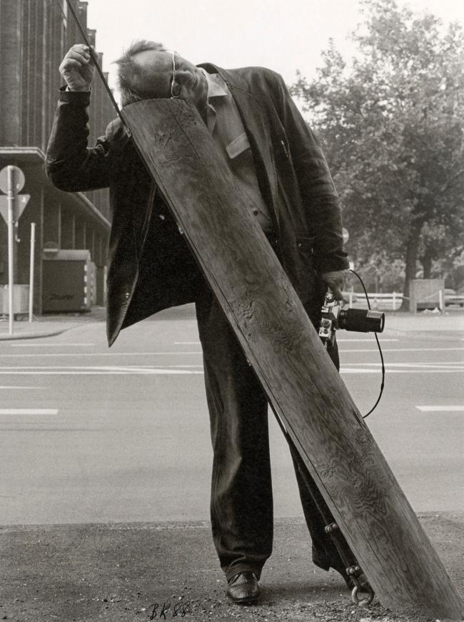 Benjamin Katz (Belgium, b. 1939) 'Sigmar Polke in Düsseldorf' 1984