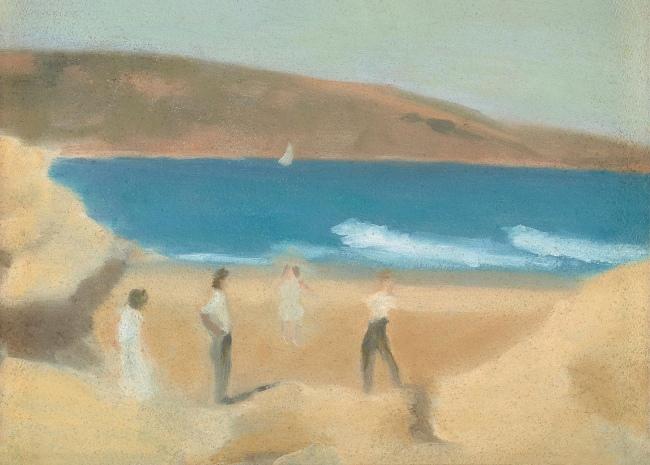 Clarice Beckett (Australia, 1887-1935) 'Anglesea' 1929