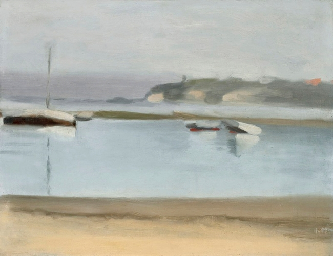 Clarice Beckett (Australia, 1887-1935) '(At Rickett's Point, Beaumaris)' Nd
