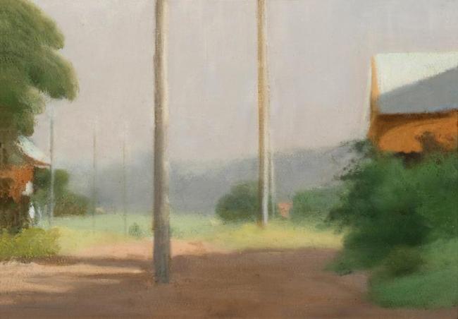 Clarice Beckett (Australia, 1887-1935) 'Dusk' Nd