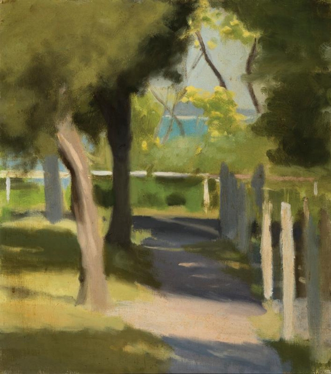 Clarice Beckett (Australia, 1887-1935) 'Path to the Beach' Nd