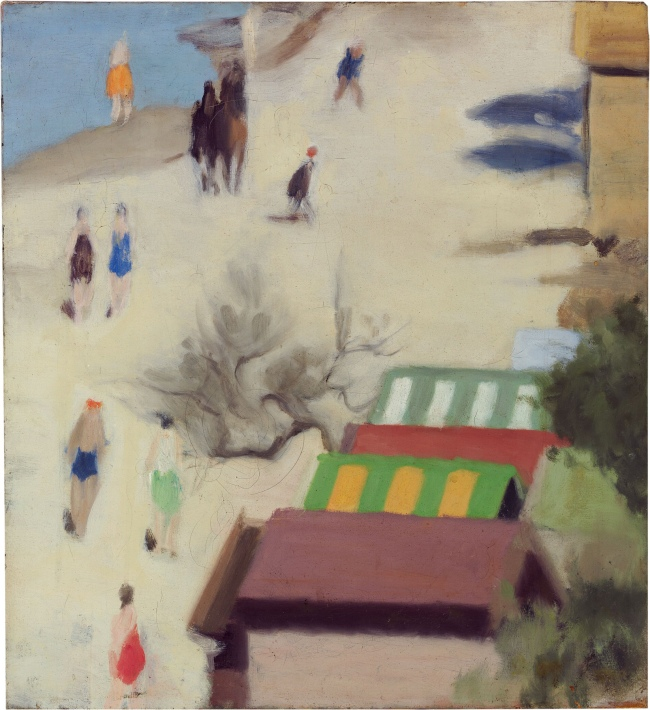 Clarice Beckett (Australia, 1887-1935) 'Sandringham Beach' c. 1933