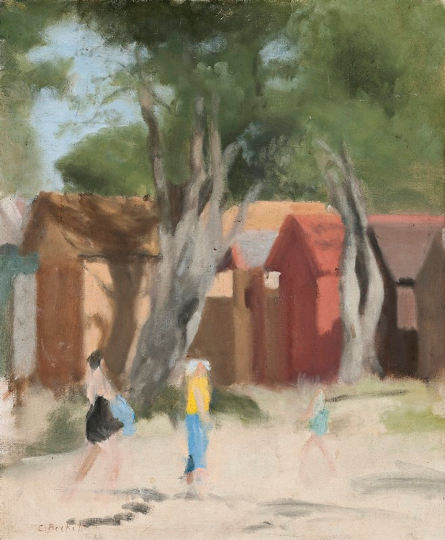 Clarice Beckett (Australia, 1887-1935) '(Summer Day, Beaumaris)' c. 1933