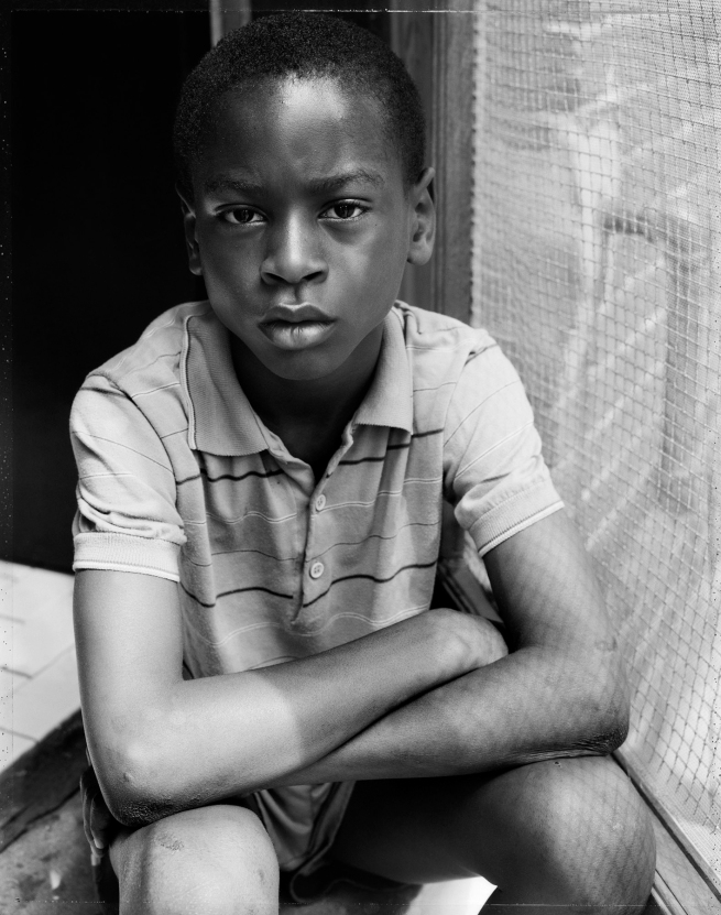 Dawoud Bey (American, b. 1953) 'Alfonso, Washington, DC, 1989' 1989