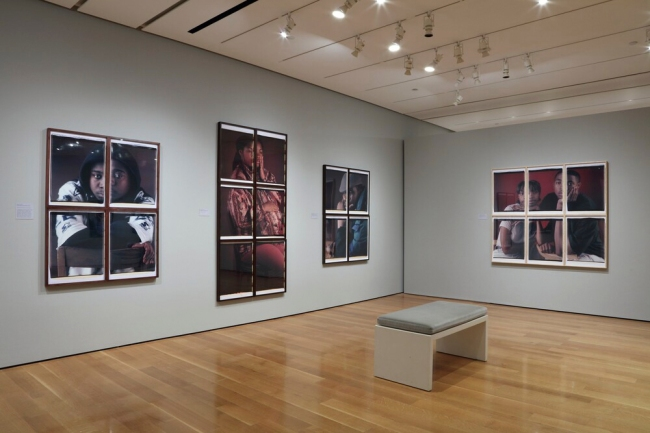 Installation view of the exhibition 'Dawoud Bey: An American Project' at the High Museum of Art, Atlanta
