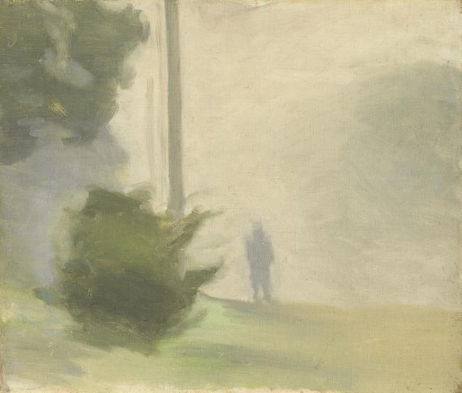 Clarice Beckett (Australia, 1887-1935) 'Silent Approach' c. 1924