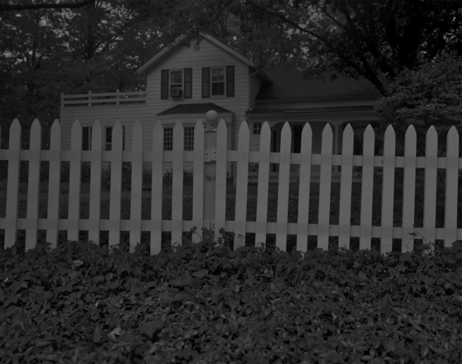 Dawoud Bey. 'Untitled #1 (Picket Fence and Farmhouse)' 2017