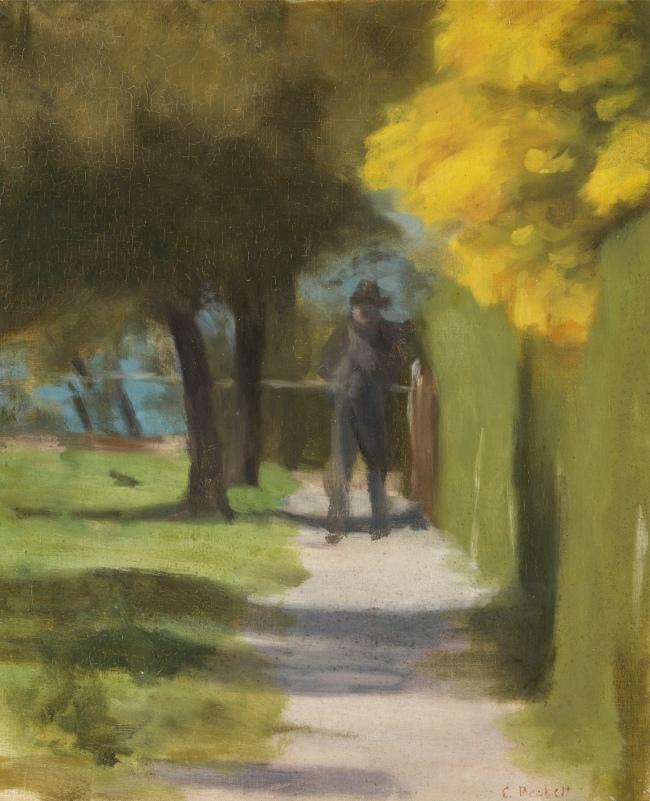 Clarice Beckett (Australia, 1887-1935) 'October morning' c. 1927