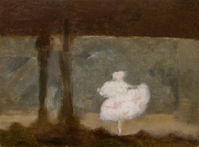 Clarice Beckett (Australia, 1887-1935) 'Pavlova, the dying swan' 1929