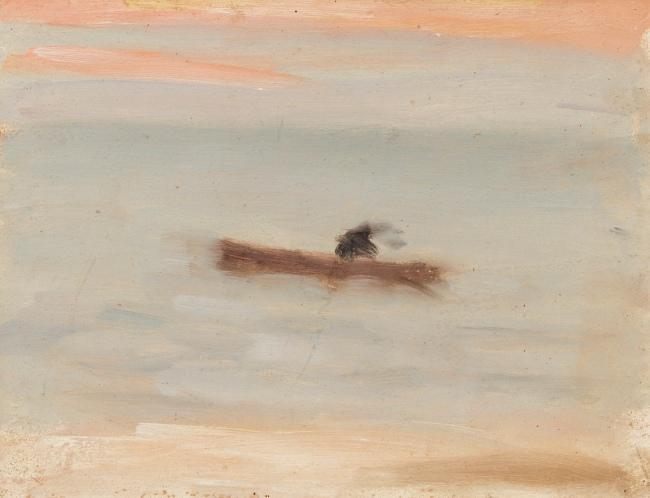 Clarice Beckett (Australia, 1887-1935) 'Solitude' c. 1932