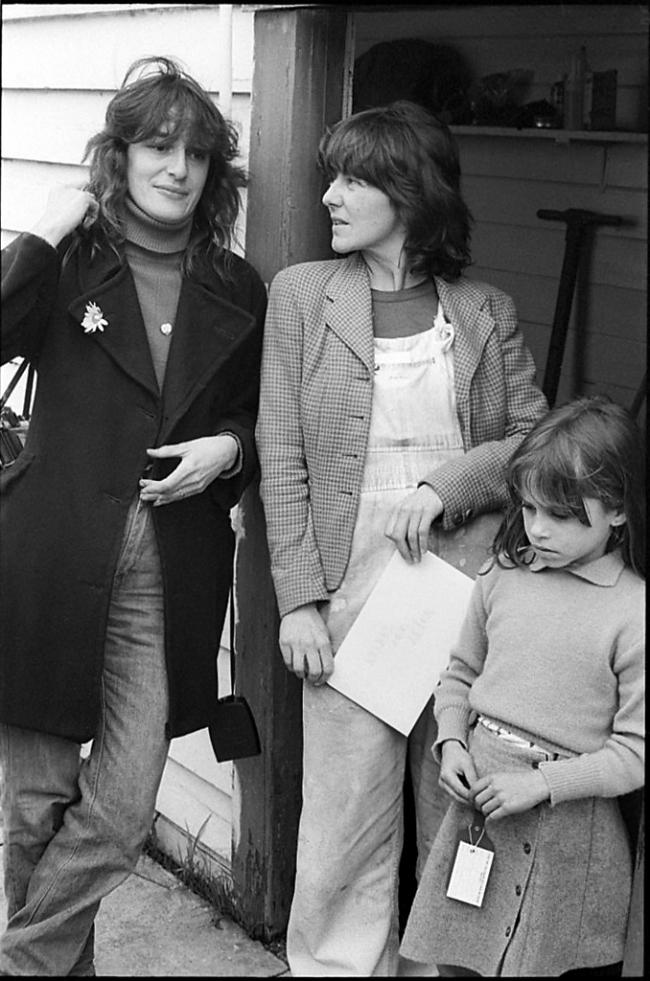 Ruth Maddison (Australian, b. 1945) 'Ponch Hawkes, Helen and Alice Garner' 1978-2018