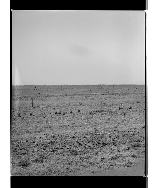 Marcus Bunyan (Australian, b. 1958) 'Out back' 1995