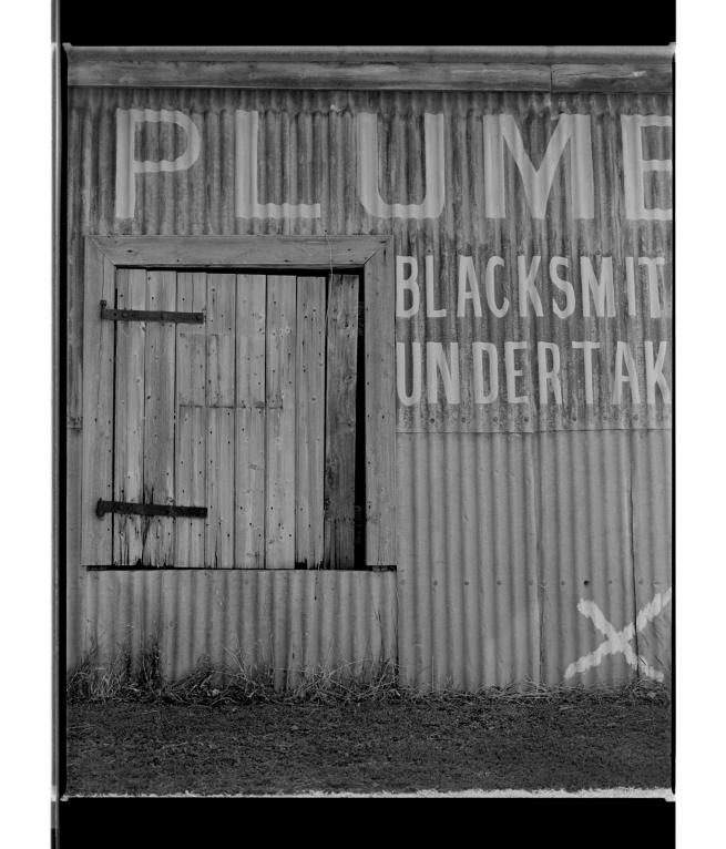Marcus Bunyan (Australian, b. 1958) 'Plume (X marks the spot)' 1995