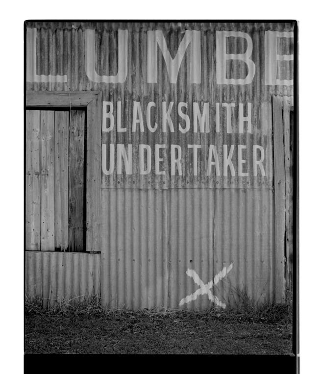 Marcus Bunyan (Australian, b. 1958) 'Lumbe, Blacksmith, Undertaker' 1995