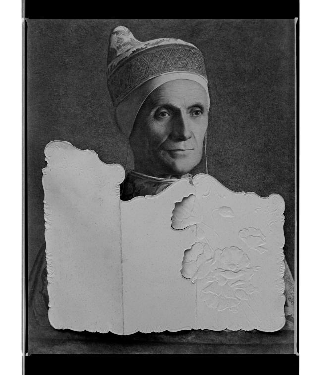 Marcus Bunyan (Australian, b. 1958) 'Untitled (Pope unfolded)' 1996