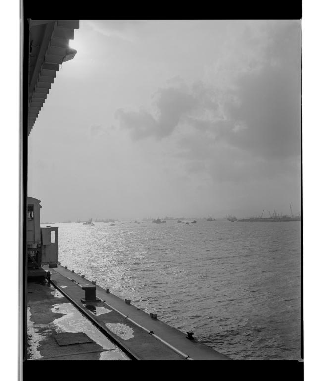 Marcus Bunyan (Australian, b. 1958) 'Port Melbourne to Port of Melbourne' 1995