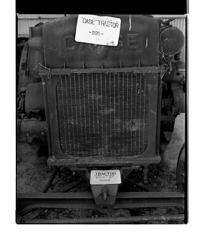 Marcus Bunyan (Australian, b. 1958) 'Case Tractor – 1925 –' 1996