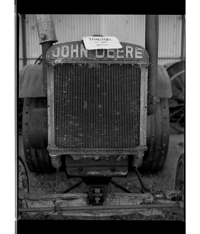 Marcus Bunyan (Australian, b. 1958) 'John Deere Tractor c. 1925' 1995