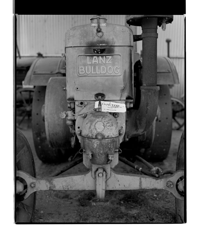 Marcus Bunyan (Australian, b. 1958) 'Lanz Bulldog Tractor 1930' 1995
