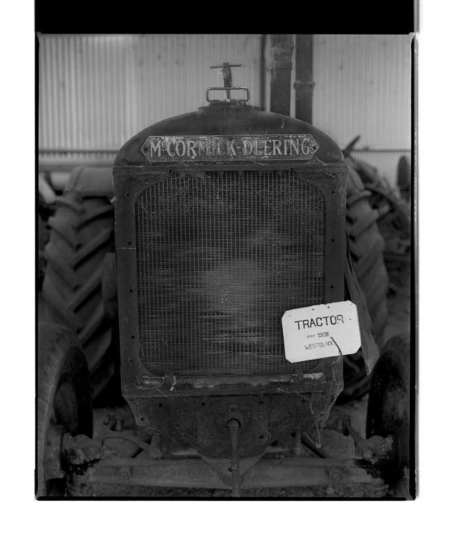 Marcus Bunyan (Australian, b. 1958) 'McCormick Deering Tractor c. 1928' 1995