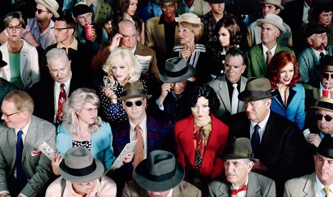 Alex Prager (American, b. 1979) 'Crowd #1 (Stan Douglas)' 2010
