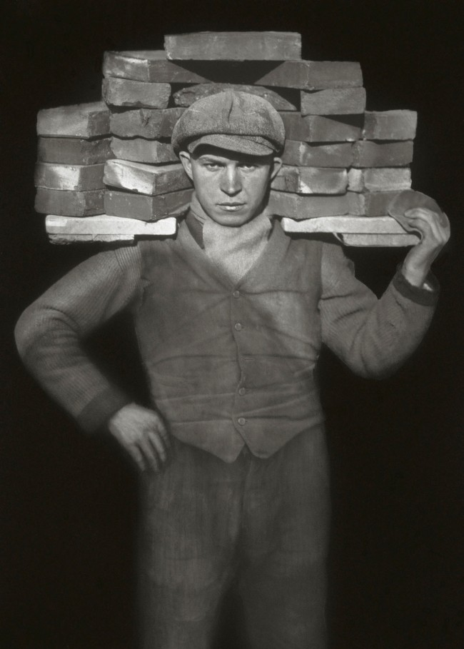 August Sander (German, 1876-1964) 'Handlanger' (Bricklayer / Handyman) 1928